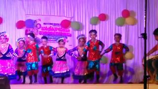 Kingini Puzhayude Theerathu  Dance Performance||simple Malayalam Dance Performence For KG Students