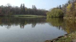 preview picture of video 'Beautiful lake in Palace of Nymphenburg, Munich, Germany.'