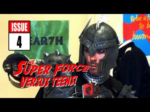 Super Force versus teenageři