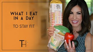 What I Eat in a Day To Stay Fit OVER 45