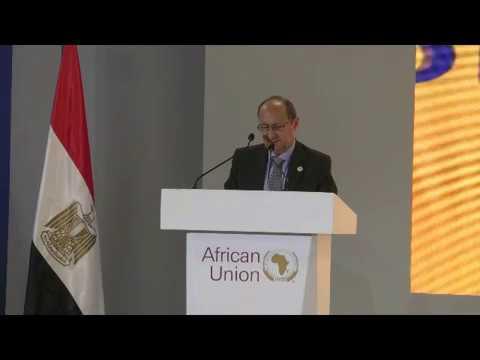 كلمة الوزير/عمرو نصار خلال الجلسة الافتتاحية للمؤتمر السابع لوزراء التجارة الأفارقة