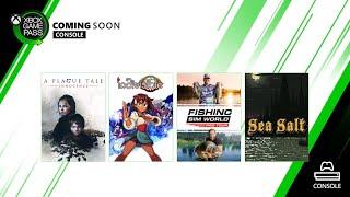 Xbox Próximamente en #XboxGamePass... anuncio
