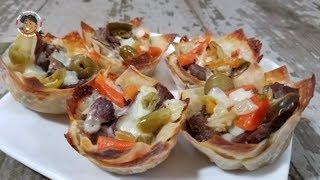 Italian Beef Bites Recipe Super Simple Appetizer #NomNom