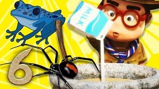 ОкоЛеле - серия 6 - смешные мультики - человек паук и человек лягушка KEDOO МУЛЬТФИЛЬМЫ для детей