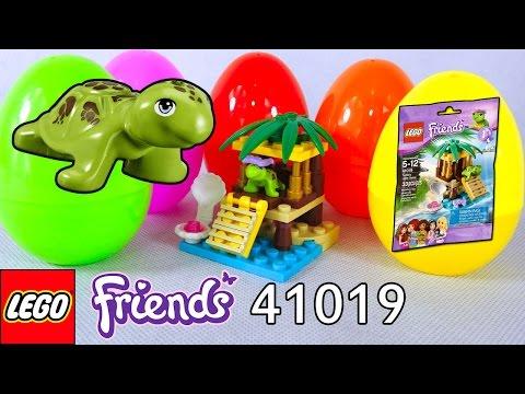 Vidéo LEGO Friends 41019 : La tortue et son oasis