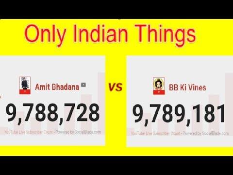 BB ki Vines VS Amit Bhadana | 10 million subscibers fight
