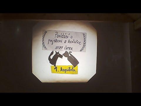 1/9 Povídání o pejskovi a kočičce, jak si myli podlahu - Josef Čapek - Divadlo Toy Machine