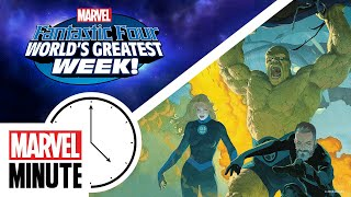 The Fantastic Four make their way into games, comics, and more! | Marvel Minute