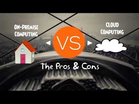 On Premise VS Cloud Computing – Pros and Cons Comparison