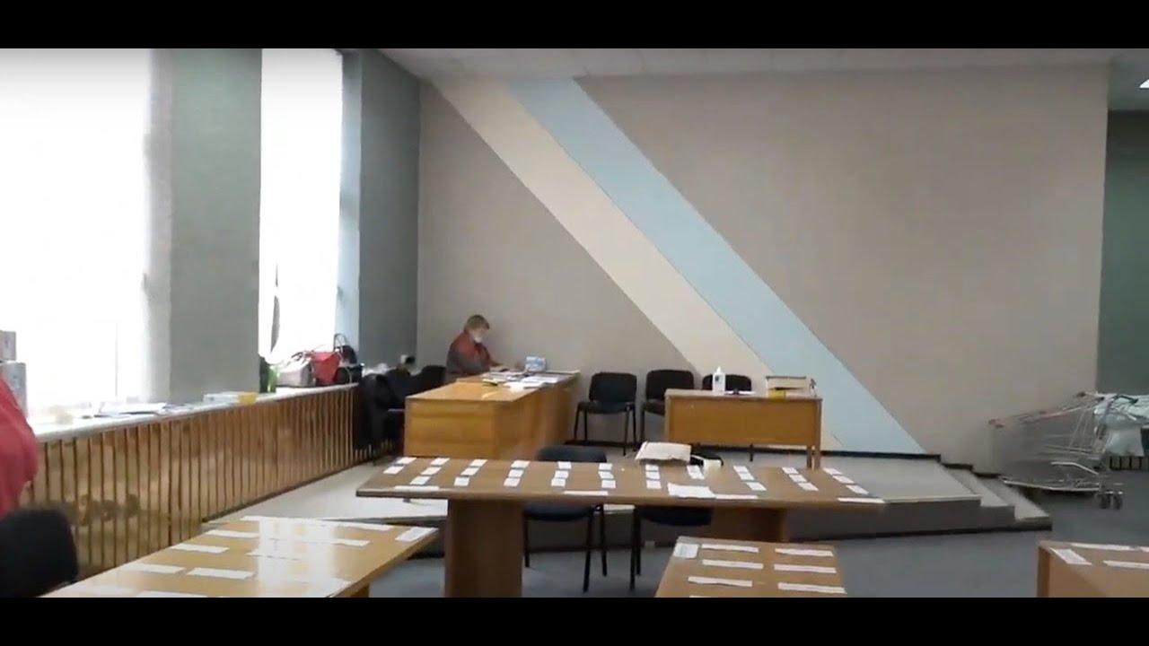 Заседание Центрального райизбиркома в Николаеве о пересчете голосов
