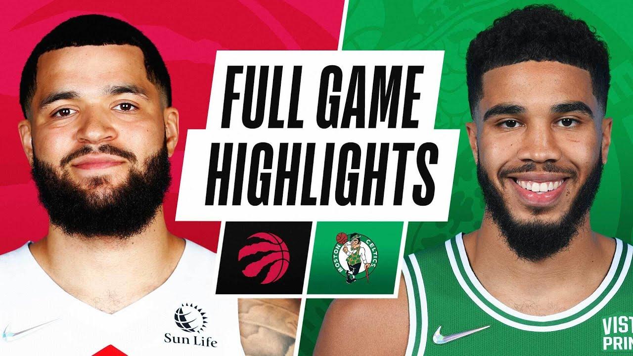 RAPTORS at CELTICS | NBA PRESEASON FULL GAME HIGHLIGHTS | October 9, 2021