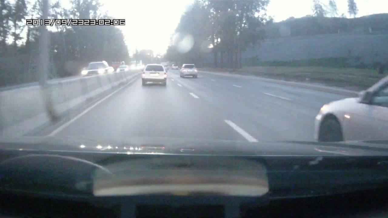 Водитель Tucson не справился с управлением и устроил аварию на Бердском шоссе