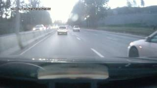Авария Бердское шоссе 26.09.2016
