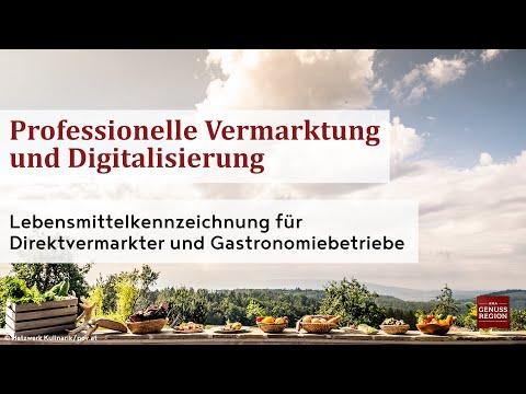 Lebensmittelkennzeichnung für Direktvermarkter und Gastronomiebetriebe
