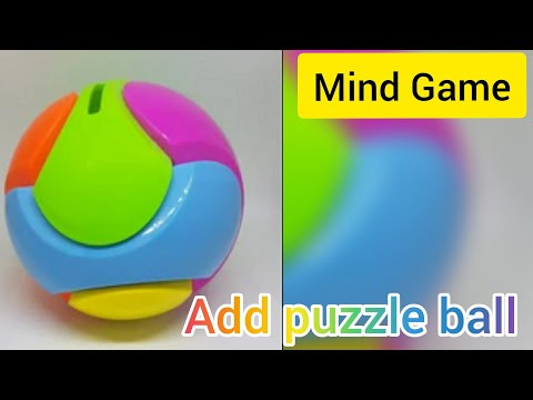 How to joint puzzle ball solution