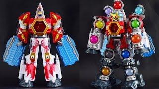 [TMT][435] DX Gigant Houou! DX Kyutamajin! Uchu Sentai Kyuranger! 宇宙戦隊キュウレンジャー