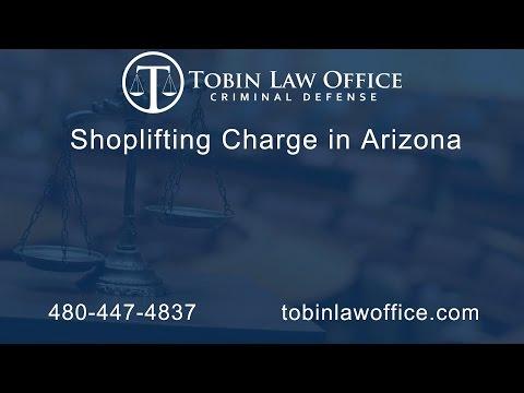Arizona Shoplifting Law Tobin Law Office