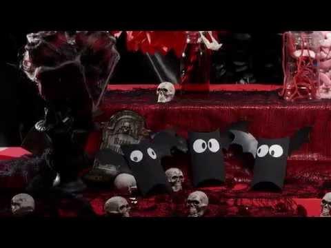 DIY Fledermaus Bonbons Schachtel