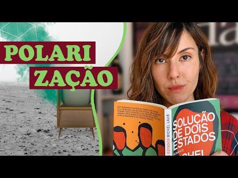 SOLUÇÃO DE DOIS ESTADOS e o Brasil polarizado | Resenha | Livro Lab por Aline T.K.M.
