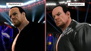 WWE 2K16 Graphics Comparison