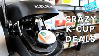 K-Cup Steals, 50% Off Starbucks Brewers - The Deal Guy