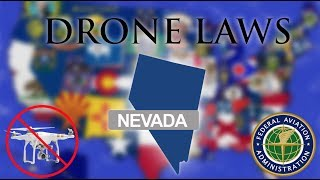 Where Can I Fly in Nevada? - Every Drone Law 2019 - Las Vegas, Reno (Episode 28)
