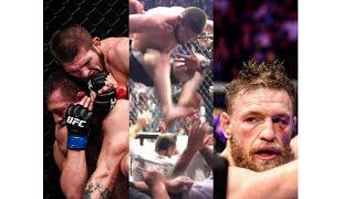 McGregor Vs Khabib Brawl RARE Fan Footage! All Angles - Aftermath UFC 229