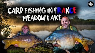 Carp Fishing In France   Meadow Lake   LÉ VLOG 3
