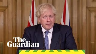 Boris Johnson Sets Out Revised Coronavirus Lockdown Rules In England