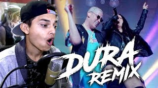 Bad Bunny   Dura (Remix) [En Vivo] Ft. Daddy Yankee, Natti Natasha, Becky G, Reaccion