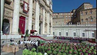 El Papa Francisco inaugura el Sínodo de los jóvenes