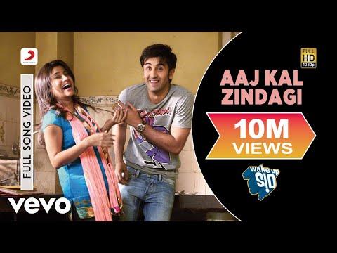 Aaj Kal Zindagi Full Video - Wake Up Sid Ranbir Kapoor, Konkona Sen Shankar Mahadevan