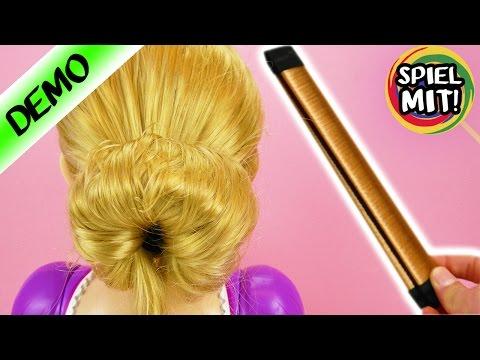 Der perfekte Dutt | Rapunzel Frisur mit Hair Bun Dutt Hilfe | Funktioniert das wirklich? Frisierkopf