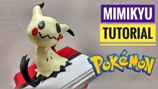 How To Make Mimikyu Polymer Clay Tutorial / Como Hacer A Mimikyu  Pokémon En Porcelana Fría