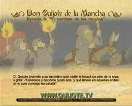 Videocuento Epis.#08 Resumen DON QUIJOTE DE LA MANCHA (1979) - QUIXOTE