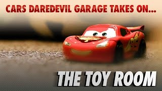 Disney Pixar Cars | The Die-cast Series Ep. 6 | Takes on the Toy Room