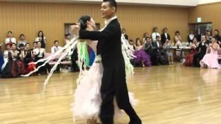 社交ダンス クイックステップ 第1位 第13回ヤングサークル10ダンス選手権 若者サークル競技会