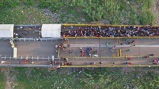 Colombia's Venezuelan migrant influx