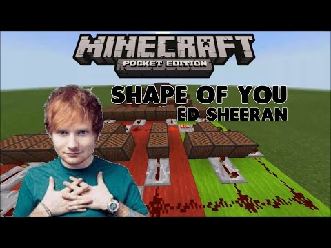 ♪ Shape Of You ♪ [Ed Sheeran] - Lagu Dari Noteblock #1 (MCPE INDONESIA)