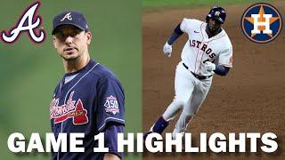 Atlanta Braves vs. Houston Astros | 2021 World Series Game 1 Highlights