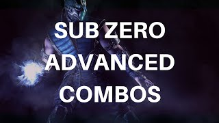 Sub Zero Advanced Combos (47%) Mortal Kombat X