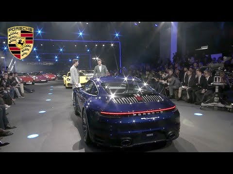 2019 Porsche 911 Reveal With Mark Webber And Armie Hammer