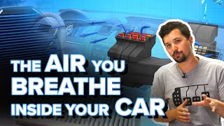 What Does A Cabin Air Filter Do, And How Does Your Car's AC System Work? - Explained - 3D Animation