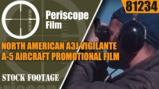 NORTH AMERICAN A3J VIGILANTE / A-5 AIRCRAFT   PROMOTIONAL FILM 81234