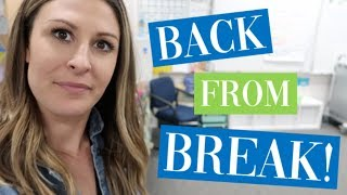 A Day In The Life Of A 3rd Grade Teacher- FIRST DAY BACK