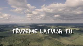 Justs - Latvijai | lyrics video 2017