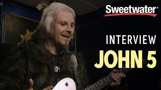 John 5 Interview: Plus How To Make Weird And Wonderful Guitar Sounds, With No Pedals!