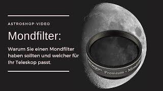 Mondfilter: Warum Sie einen Mondfilter brauchen