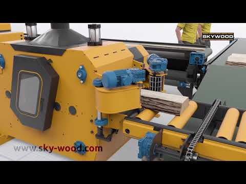 Sawmill SKYWOOD line for pallet boards - foto 6