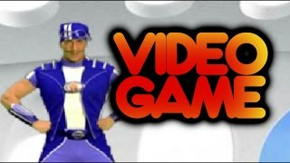 Lazy Town Video Game Sports Candy Sprint Gameplay